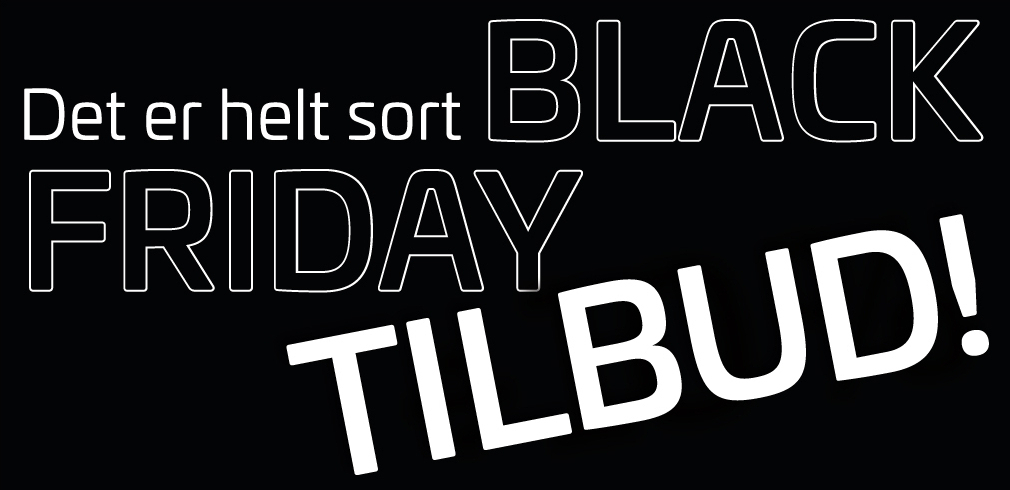 black friday tilbud splash